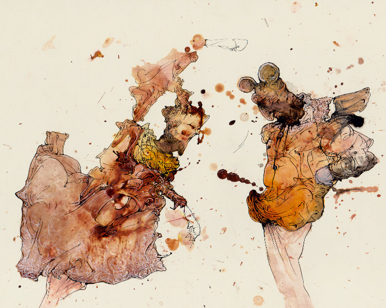 Cascanueces - Dibujos al paso de Lisandro Demarchi