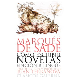 Cover illustration for a Marquis de Sade book