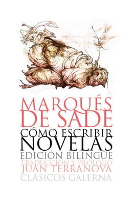 Ilustración para la tapa del libro Cómo escribir novelas